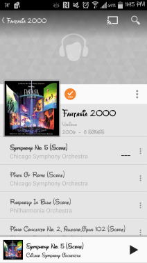 I love my Fantasia playlist!
